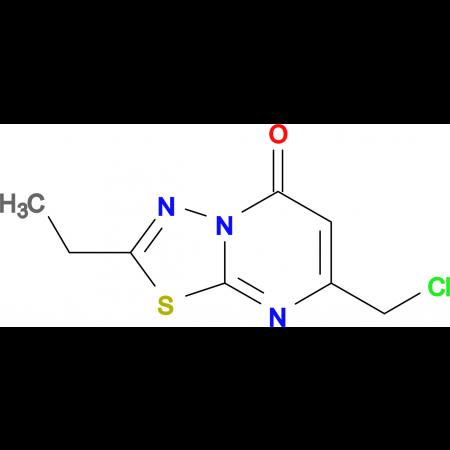 7-(chloromethyl)-2-ethyl-5H-[1,3,4]thiadiazolo[3,2-a]pyrimidin-5-one