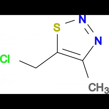 5-(chloromethyl)-4-methyl-1,2,3-thiadiazole
