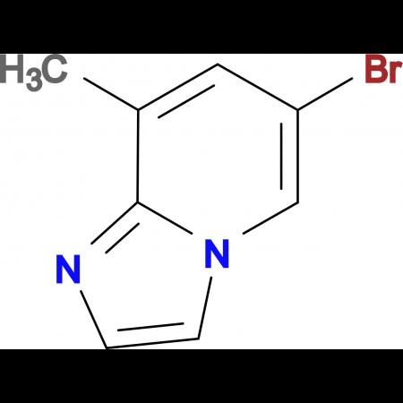 6-bromo-8-methylimidazo[1,2-a]pyridine