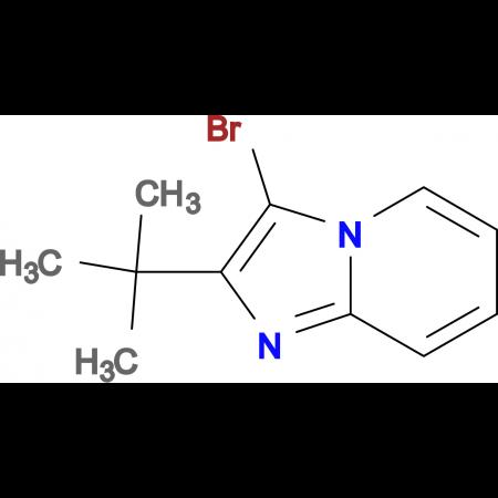 3-bromo-2-tert-butylimidazo[1,2-a]pyridine