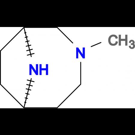 (1S*,6R*)-3-methyl-3,9-diazabicyclo[4.2.1]nonane