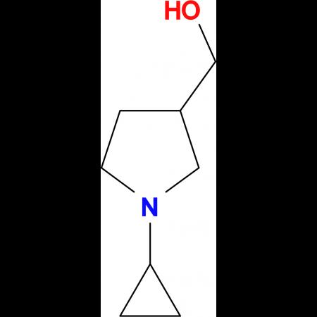 (1-cyclopropyl-3-pyrrolidinyl)methanol