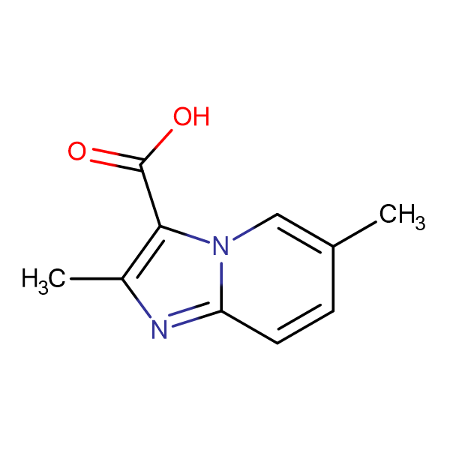 2,6-dimethylimidazo[1,2-a]pyridine-3-carboxylic acid