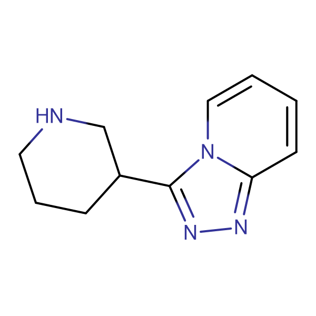 3-(3-piperidinyl)[1,2,4]triazolo[4,3-a]pyridine