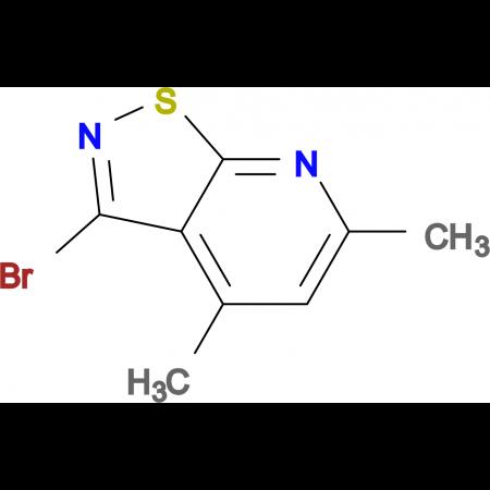 3-bromo-4,6-dimethylisothiazolo[5,4-b]pyridine