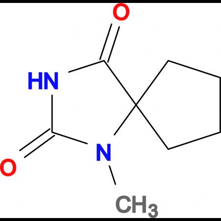 1-methyl-1,3-diazaspiro[4.4]nonane-2,4-dione