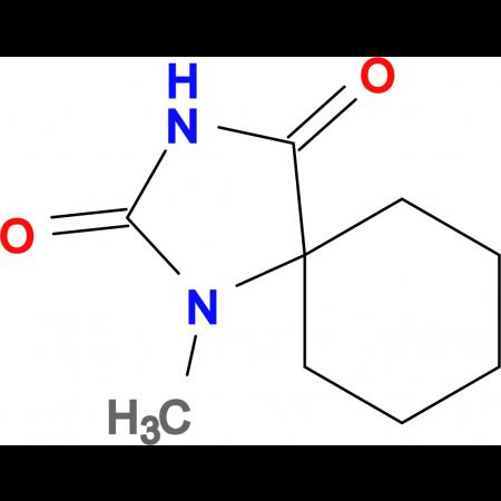 1-methyl-1,3-diazaspiro[4.5]decane-2,4-dione
