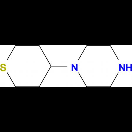 1-(tetrahydro-2H-thiopyran-4-yl)piperazine