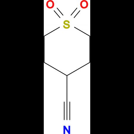 tetrahydro-2H-thiopyran-4-carbonitrile 1,1-dioxide