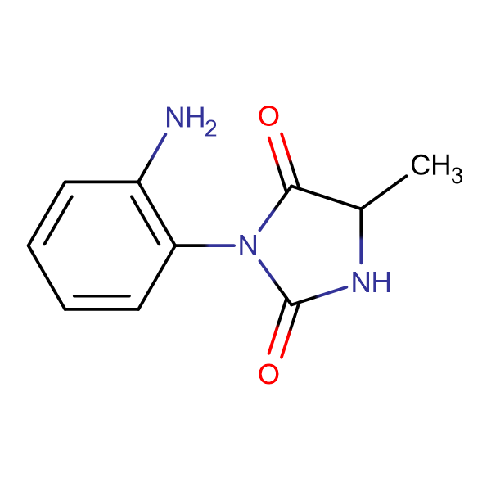 3-(2-aminophenyl)-5-methyl-2,4-imidazolidinedione