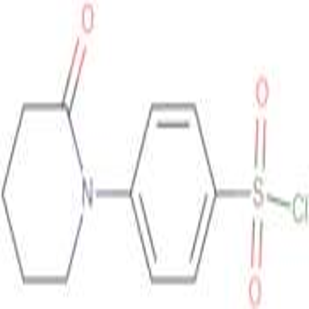 4-(2-oxo-1-piperidinyl)benzenesulfonyl chloride