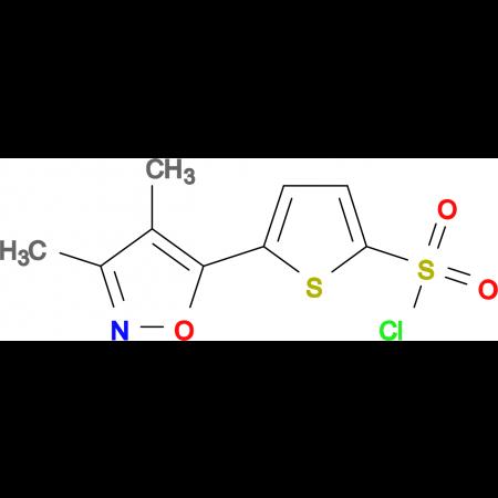 5-(3,4-dimethyl-5-isoxazolyl)-2-thiophenesulfonyl chloride