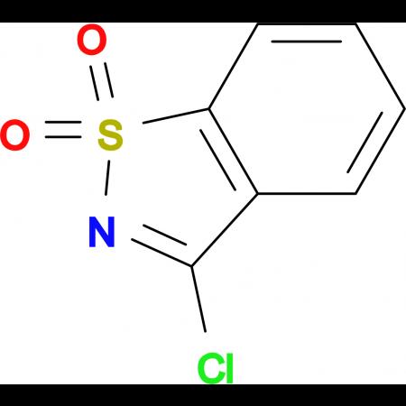 3-chloro-1,2-benzisothiazole 1,1-dioxide