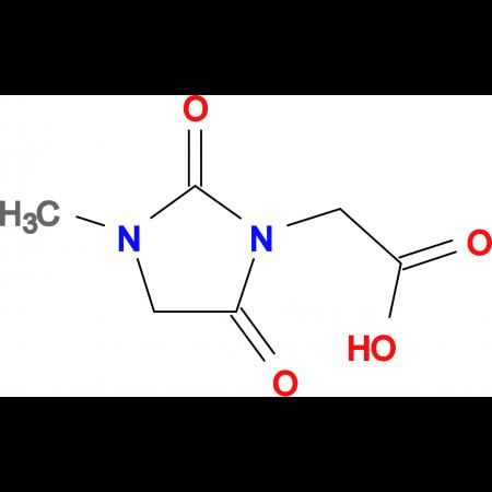 (3-methyl-2,5-dioxo-1-imidazolidinyl)acetic acid