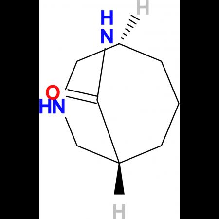 rac-(1S,5R)-3,9-diazabicyclo[3.3.2]decan-10-one