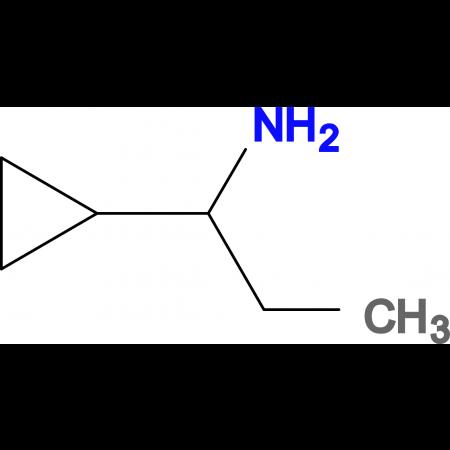(1-cyclopropylpropyl)amine