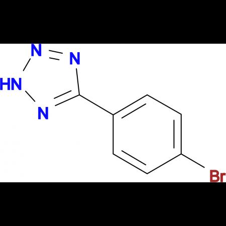 5-(4-bromophenyl)-2H-tetrazole