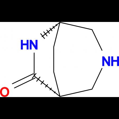 (1R*,5S*)-3,6-diazabicyclo[3.2.2]nonan-7-one
