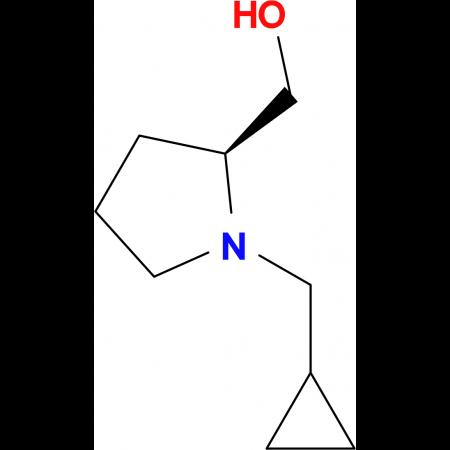 [(2S)-1-(cyclopropylmethyl)-2-pyrrolidinyl]methanol