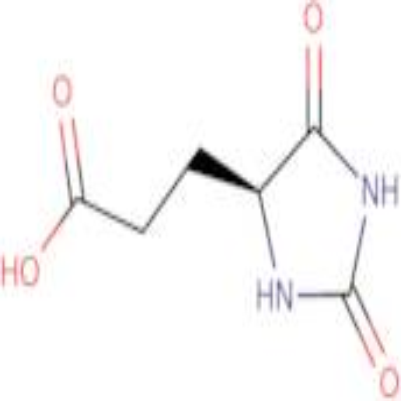 3-[(4S)-2,5-dioxo-4-imidazolidinyl]propanoic acid