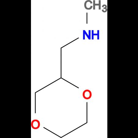 (1,4-dioxan-2-ylmethyl)methylamine