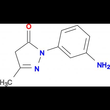 2-(3-aminophenyl)-5-methyl-2,4-dihydro-3H-pyrazol-3-one