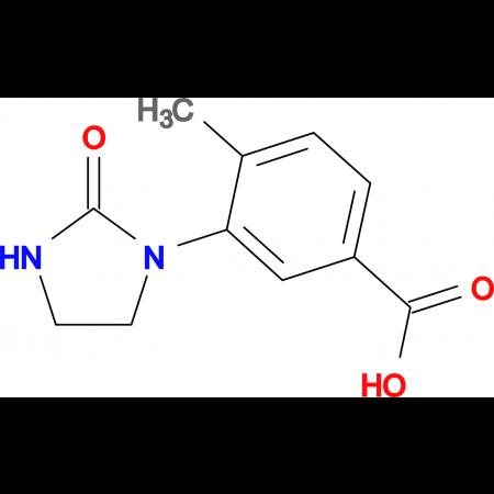 4-methyl-3-(2-oxoimidazolidin-1-yl)benzoic acid