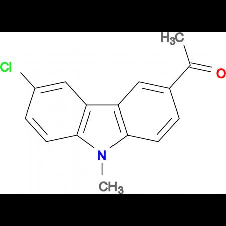1-(6-chloro-9-methyl-9H-carbazol-3-yl)ethanone