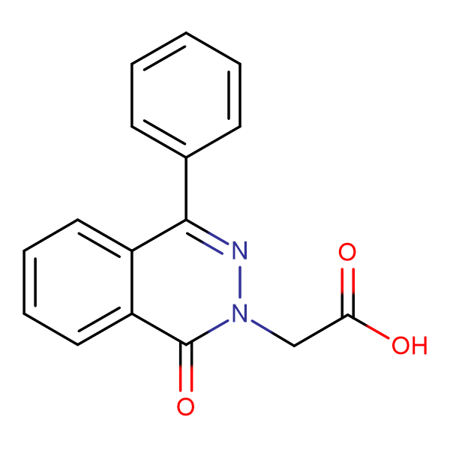 (1-oxo-4-phenyl-2(1H)-phthalazinyl)acetic acid