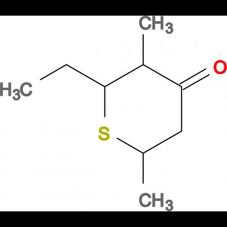 2-ethyl-3,6-dimethyltetrahydro-4H-thiopyran-4-one