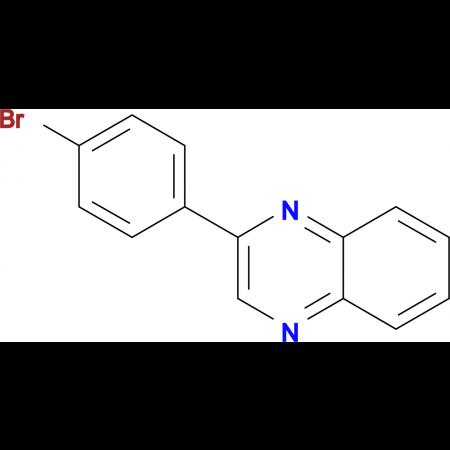2-(4-bromophenyl)quinoxaline
