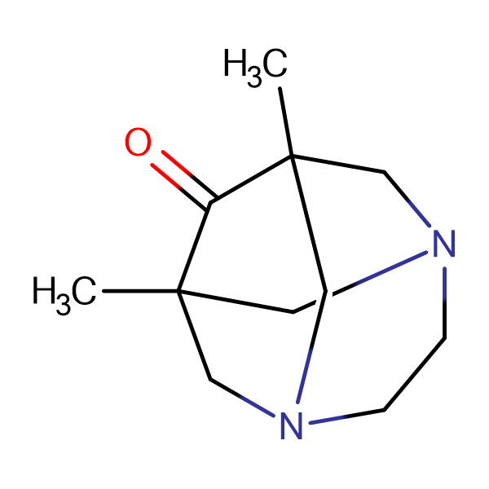1,8-dimethyl-3,6-diazatricyclo[4.3.1.1~3,8~]undecan-9-one