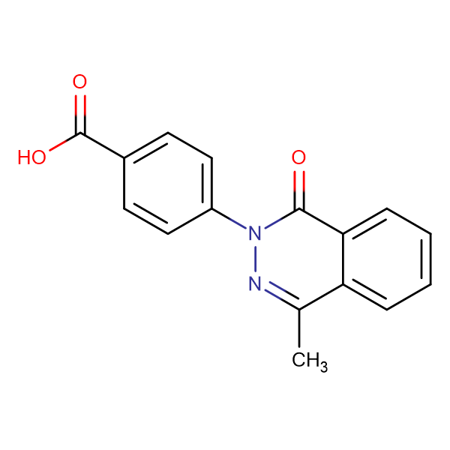 4-(4-methyl-1-oxophthalazin-2(1H)-yl)benzoic acid