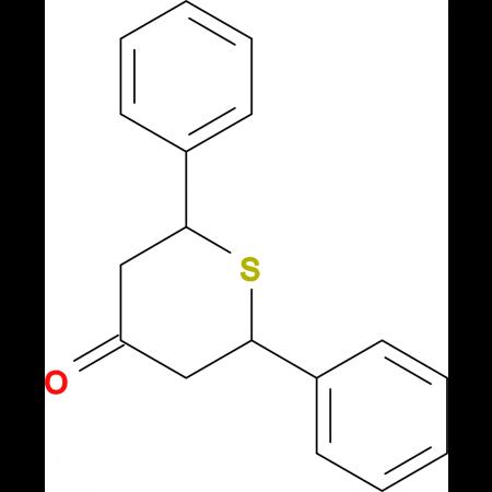 2,6-diphenyltetrahydro-4H-thiopyran-4-one
