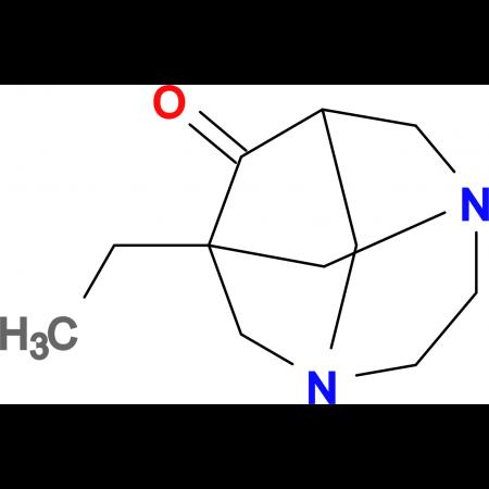1-ethyl-3,6-diazatricyclo[4.3.1.1~3,8~]undecan-9-one