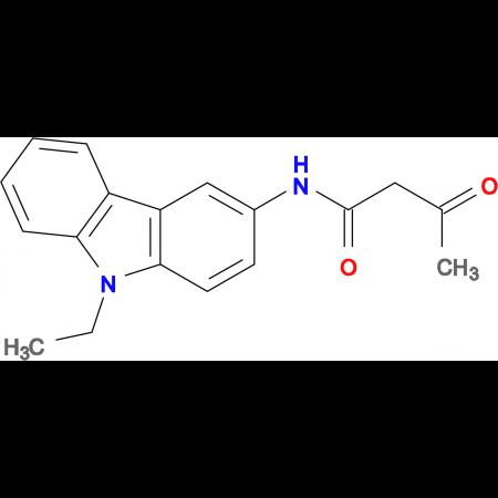 N-(9-ethyl-9H-carbazol-3-yl)-3-oxobutanamide