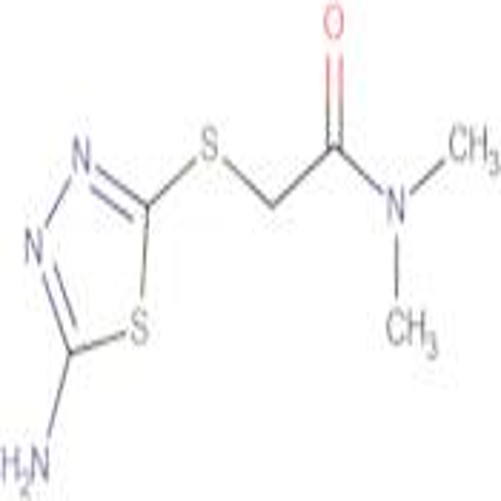 2-[(5-amino-1,3,4-thiadiazol-2-yl)thio]-N,N-dimethylacetamide