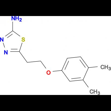 5-[2-(3,4-dimethylphenoxy)ethyl]-1,3,4-thiadiazol-2-amine