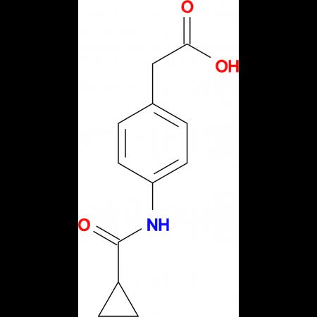 {4-[(cyclopropylcarbonyl)amino]phenyl}acetic acid