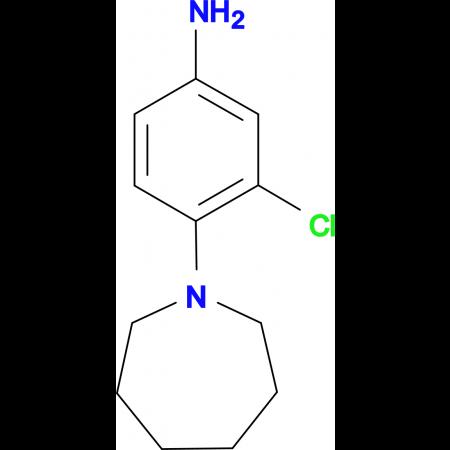 4-(1-azepanyl)-3-chloroaniline