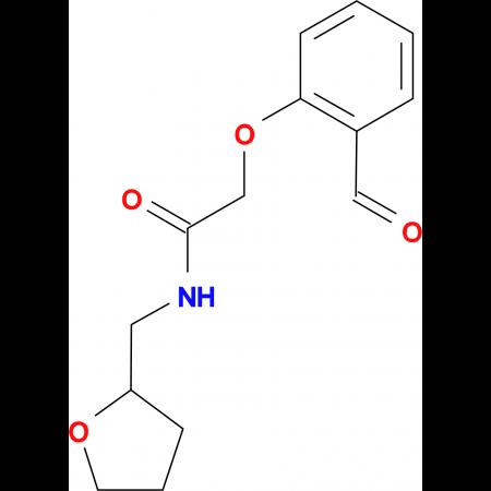 2-(2-formylphenoxy)-N-(tetrahydro-2-furanylmethyl)acetamide