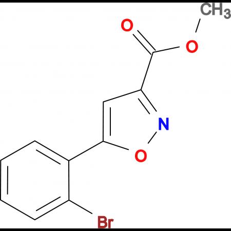 Methyl 5-(2-bromophenyl)isoxazole-3-carboxylate