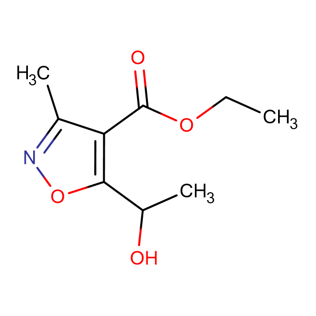 Ethyl 5-(1-Hydroxyethyl)-3-methylsoxazole-4-carboxylate