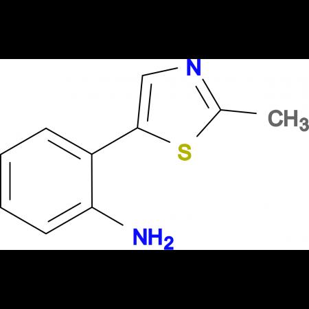 2-(2-Methyl-thiazol-5-yl)-phenylamine