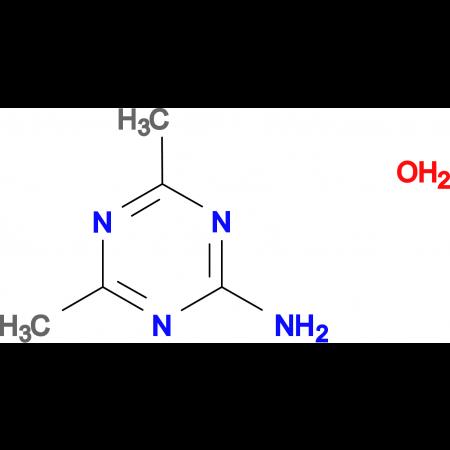 4,6-Dimethyl-[1,3,5]triazin-2-ylamine; hydrate