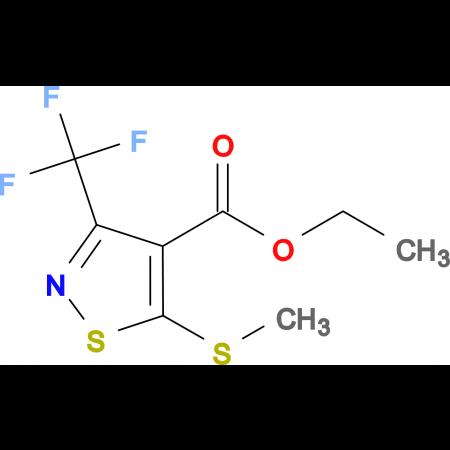 Ethyl 5-(methylthio)-3-(trifluoromethyl)isothiazole-4-carboxylate