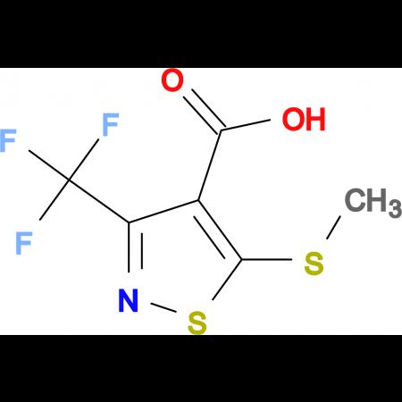 5-(Methylthio)-3-(trifluoromethyl)isothiazole-4-carboxylic acid