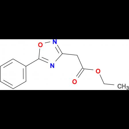 (5-Phenyl-[1,2,4]oxadiazol-3-yl)-acetic acid ethyl ester