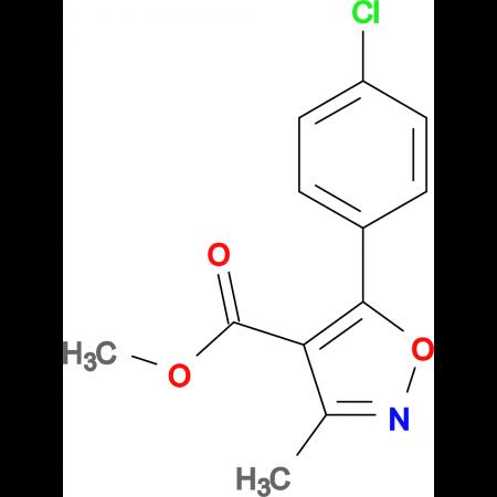 Methyl 5-(4-chlorophenyl)-3-methylisoxazole-4-carboxylate