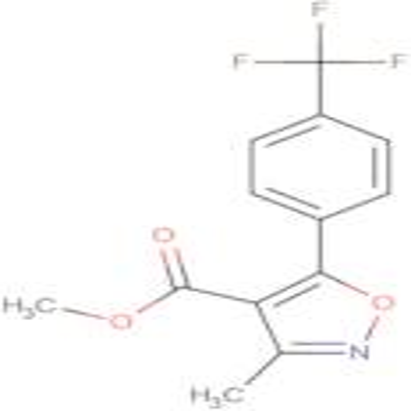 3-Methyl-5-(4-trifluoromethyl-phenyl)-isoxazole-4-carboxylic acid methyl ester
